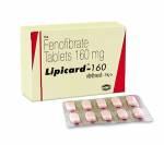 Lipicard 160 mg (10 pills)