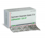 Cephadex 125 mg (10 pills)