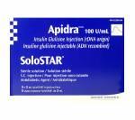 Apidra Solostar 100iu (1 box)