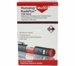 Humalog Mix 50 100 IU Kwikpen 100 iu (5 pens)
